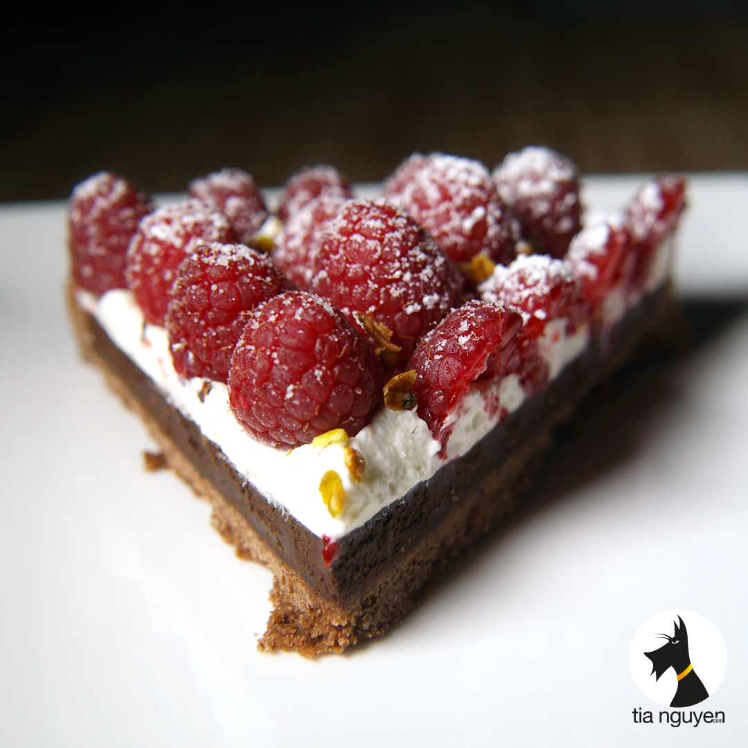 Tarte chocolat framboise cook expert recettes - Couler une douille ...